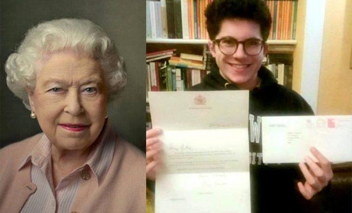 regina elisabetta lettera a mattia clemente