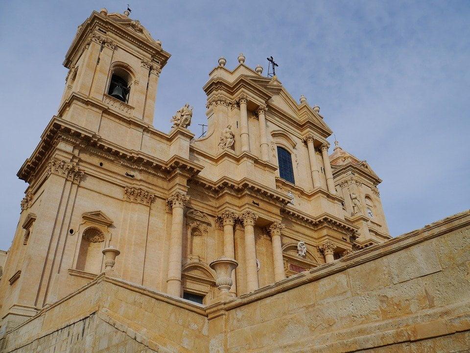 Sicilia-Cattedrale di Noto