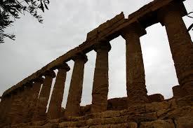 Tempio di Giunone-particolare del colonnato