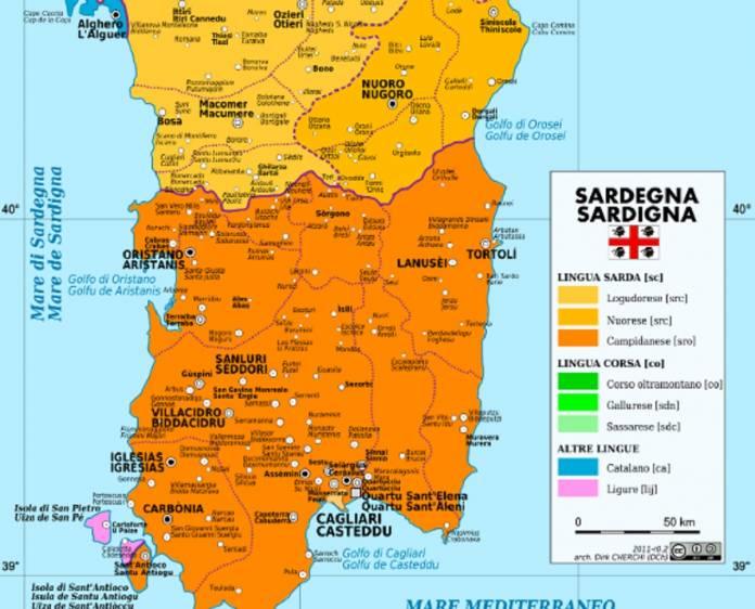 Cartina Sardegna Del Sud.La Sardegna Si Trova Molto Piu A Sud Di Quanto Immaginiamo Eccellenze Meridionali