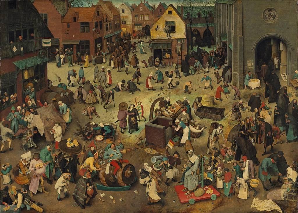 Mercoledì delle Ceneri Pieter Bruegel