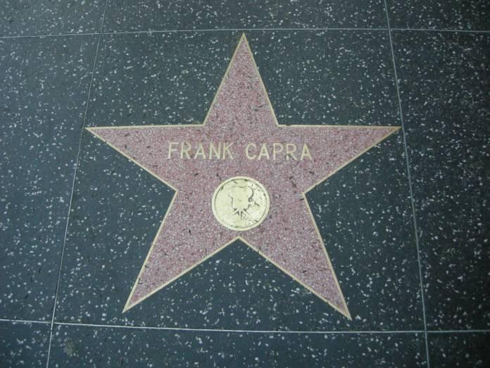 Frank Capra walk of Fame