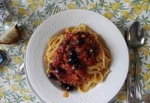 Spaghetti alla puttanesca Campania