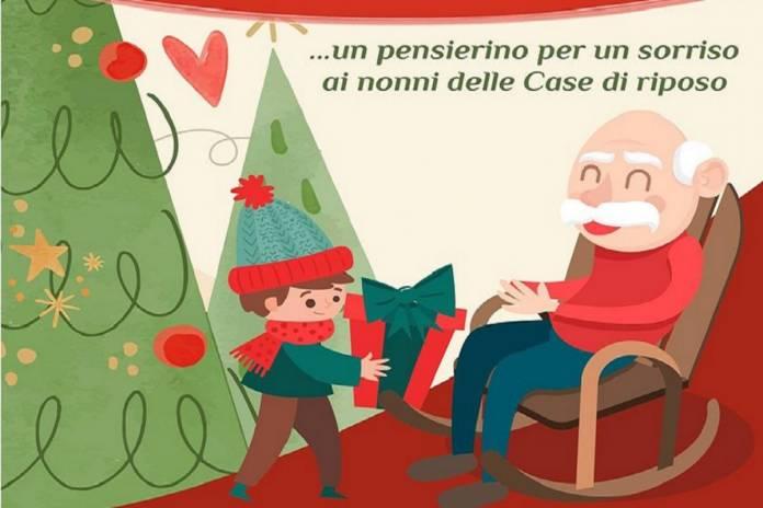 Regali Di Natale Per Nonni.Natale Al Sud L Iniziativa Dei Nipotini Per Regalare Un Sorriso Ai Nonni